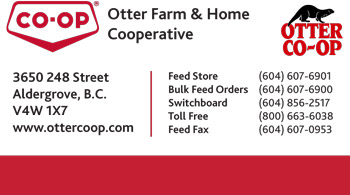 Otter Feed BCCHA business card