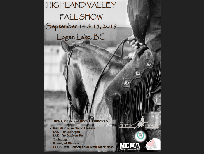 Highland Valley Fall Cutting Show