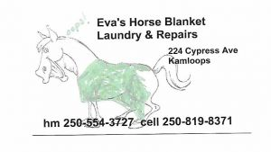 Evas Horse Blanket Laundry Repair